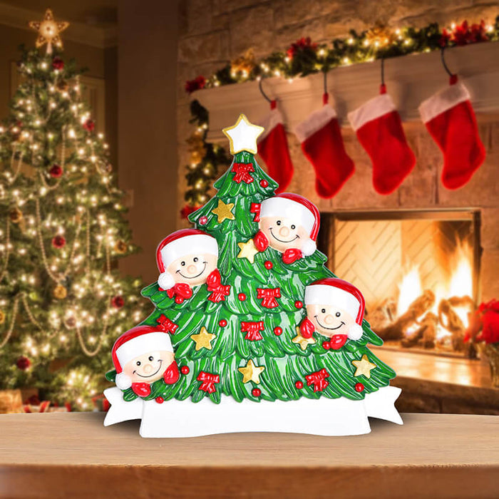 Christmas Tree  of Family Table Topper #62560-4