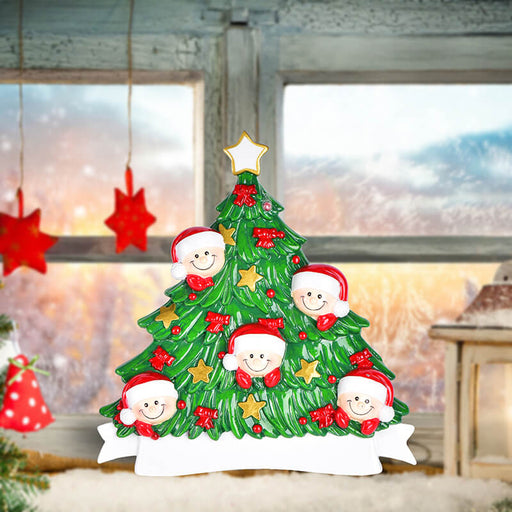 Christmas Tree  of Family Table Topper #62560-5