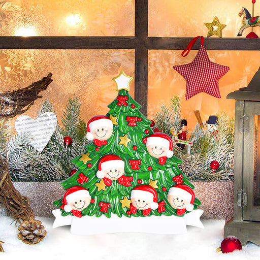 Christmas Tree  of Family Table Topper #62560-6