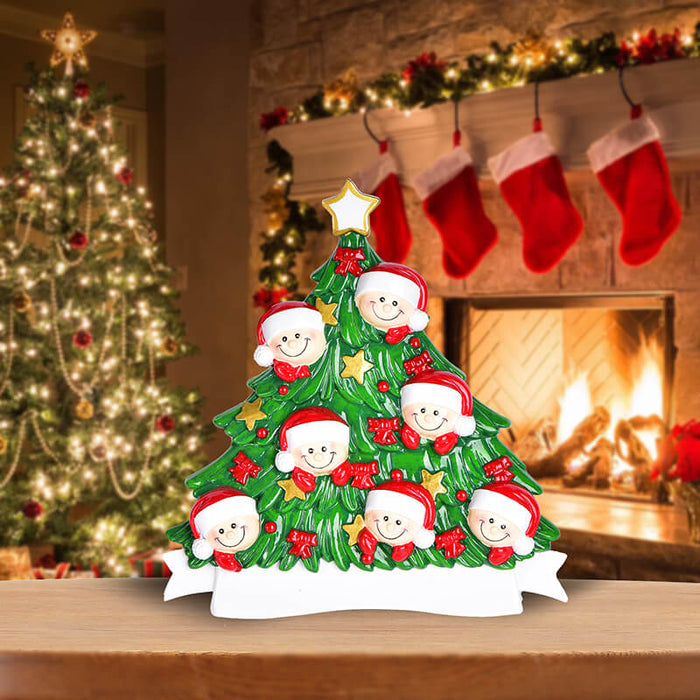 Christmas Tree  of Family Table Topper #62560-7