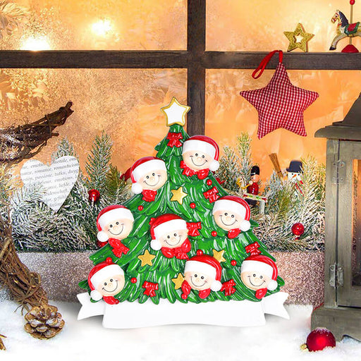 Christmas Tree  of Family Table Topper #62560-8