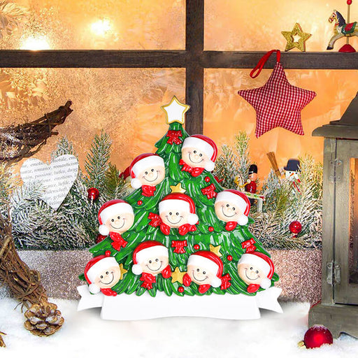 Christmas Tree  of Family Table Topper #62560-9