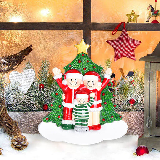 Christmas Tree  of Family Table Topper #62561-3