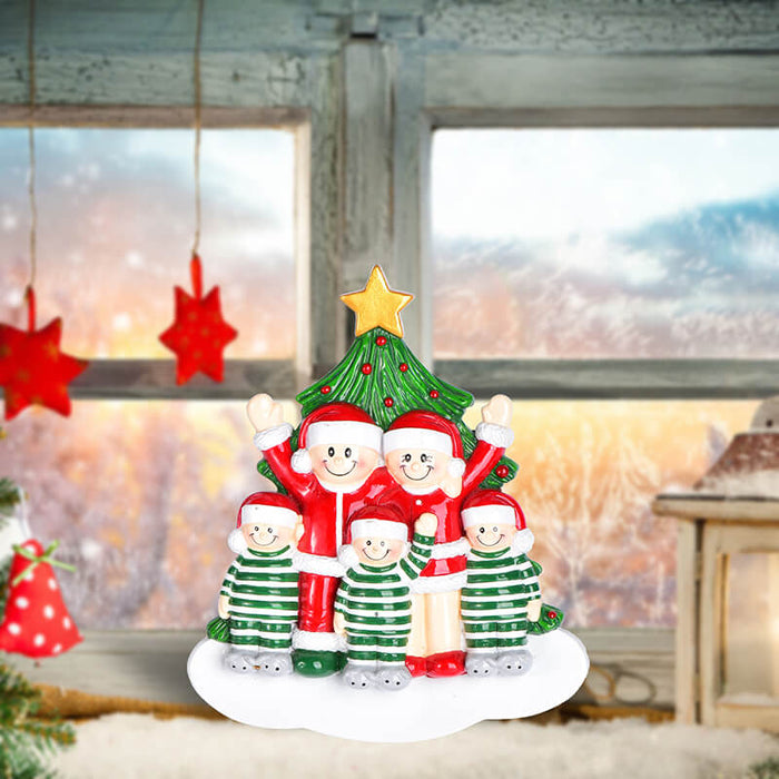 Christmas Tree  of Family Table Topper #62561-5