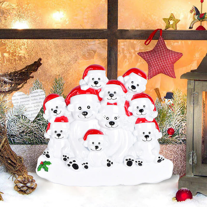 PolarBear Family Table Toppers #62564-10