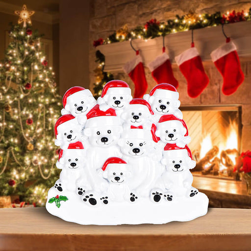 PolarBear Family Table Toppers #62564-11
