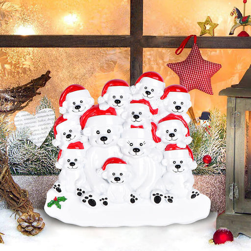 PolarBear Family Table Toppers #62564-12