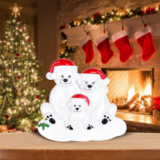 PolarBear Family Table Toppers #62564-3