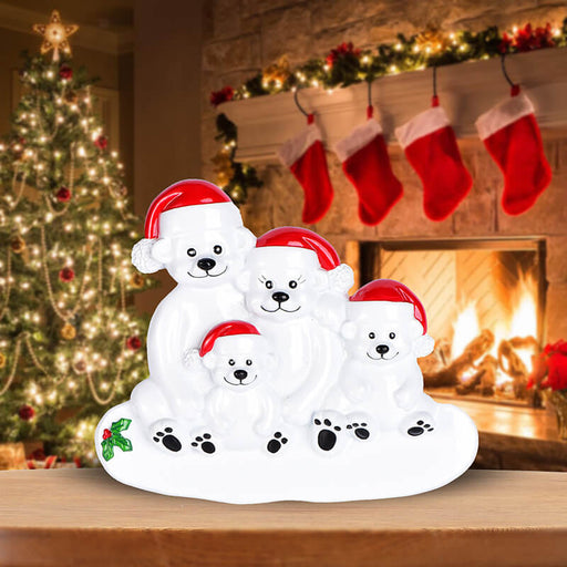 PolarBear Family Table Toppers #62564-4