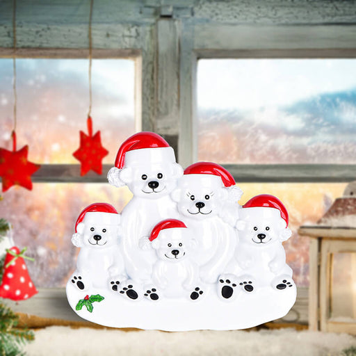 PolarBear Family Table Toppers #62564-5