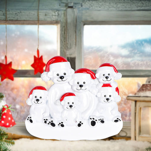 PolarBear Family Table Toppers #62564-6