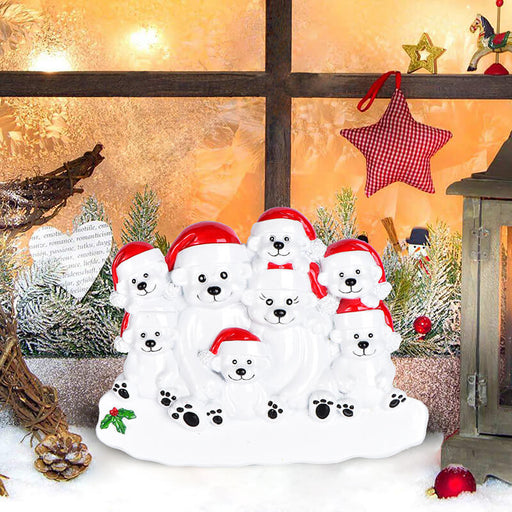 PolarBear Family Table Toppers #62564-8