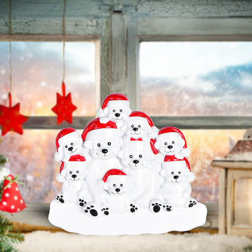 PolarBear Family Table Toppers #62564-9