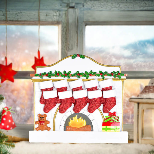 Fireplace Family Table Toppers #62565-10