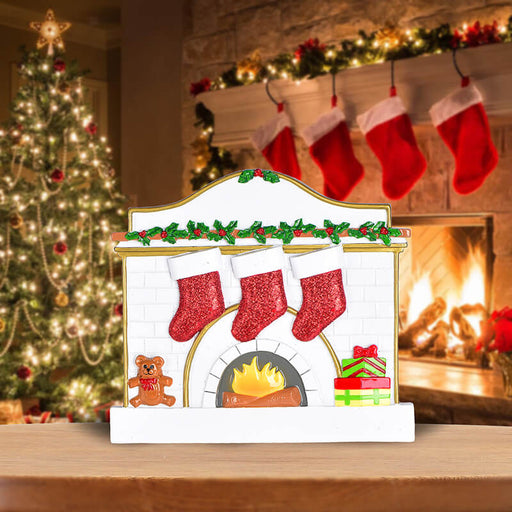 Fireplace Family Table Toppers #62565-3