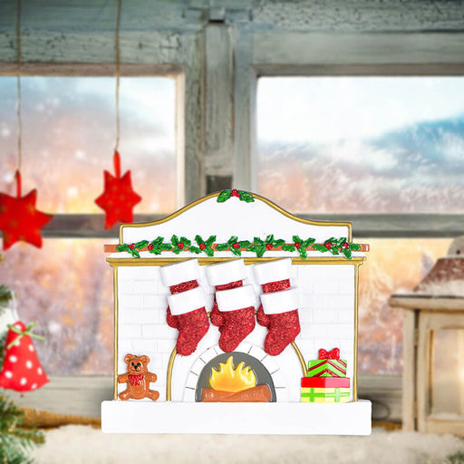 Fireplace Family Table Toppers #62565-6