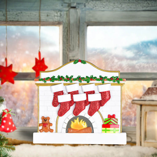 Fireplace Family Table Toppers #62565-7