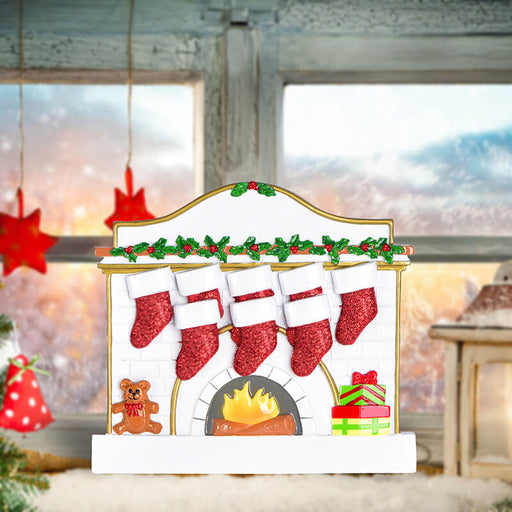 Fireplace Family Table Toppers #62565-8