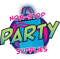 non stop party supplies transparent logo