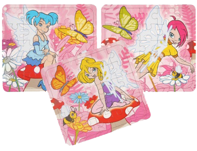 Fairy Themed Jigsaw Puzzles
