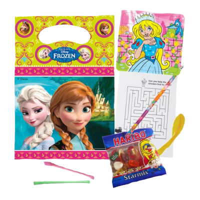 Frozen Themed Party Bag with Elsa & Anna design