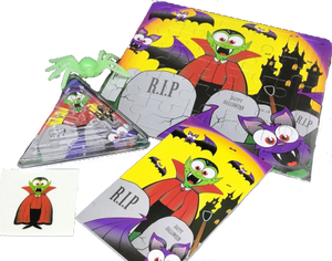 Halloween Pre-Filled Party Pack For A Kids Party