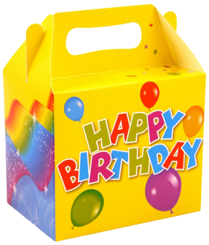 Happy Birthday lunch box party supplies