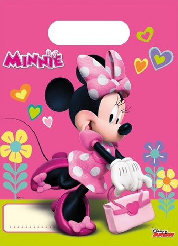 Minnie Mouse themed party bag