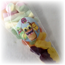 Load image into Gallery viewer, monster themed sweet party cones