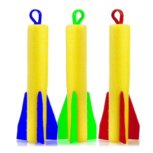 Flying foam rocket, toy, foam, foam toy, kids toy & party toys.