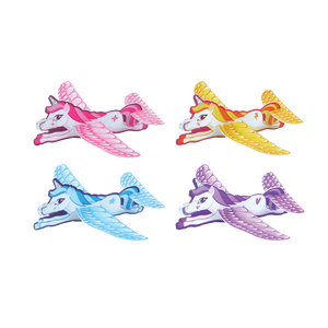 Unicorn glider, foam glider, glider, kids glider & party glider.