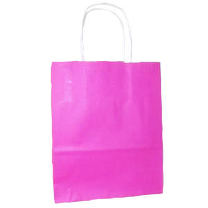 Pink Paper Bag from non stop party supplies
