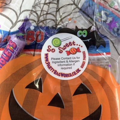 Pre filled halloween sweet bags