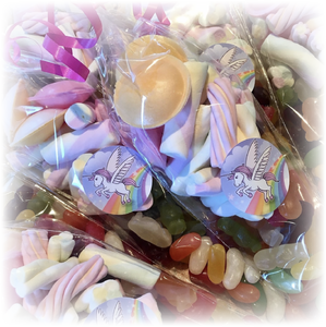 Unicorn Themed Party Sweet Bags
