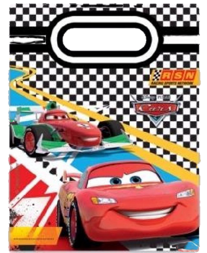 Disney Cars Themed Party Bag