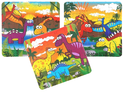 dinosaur jigsaw  themed jurassic party fillers
