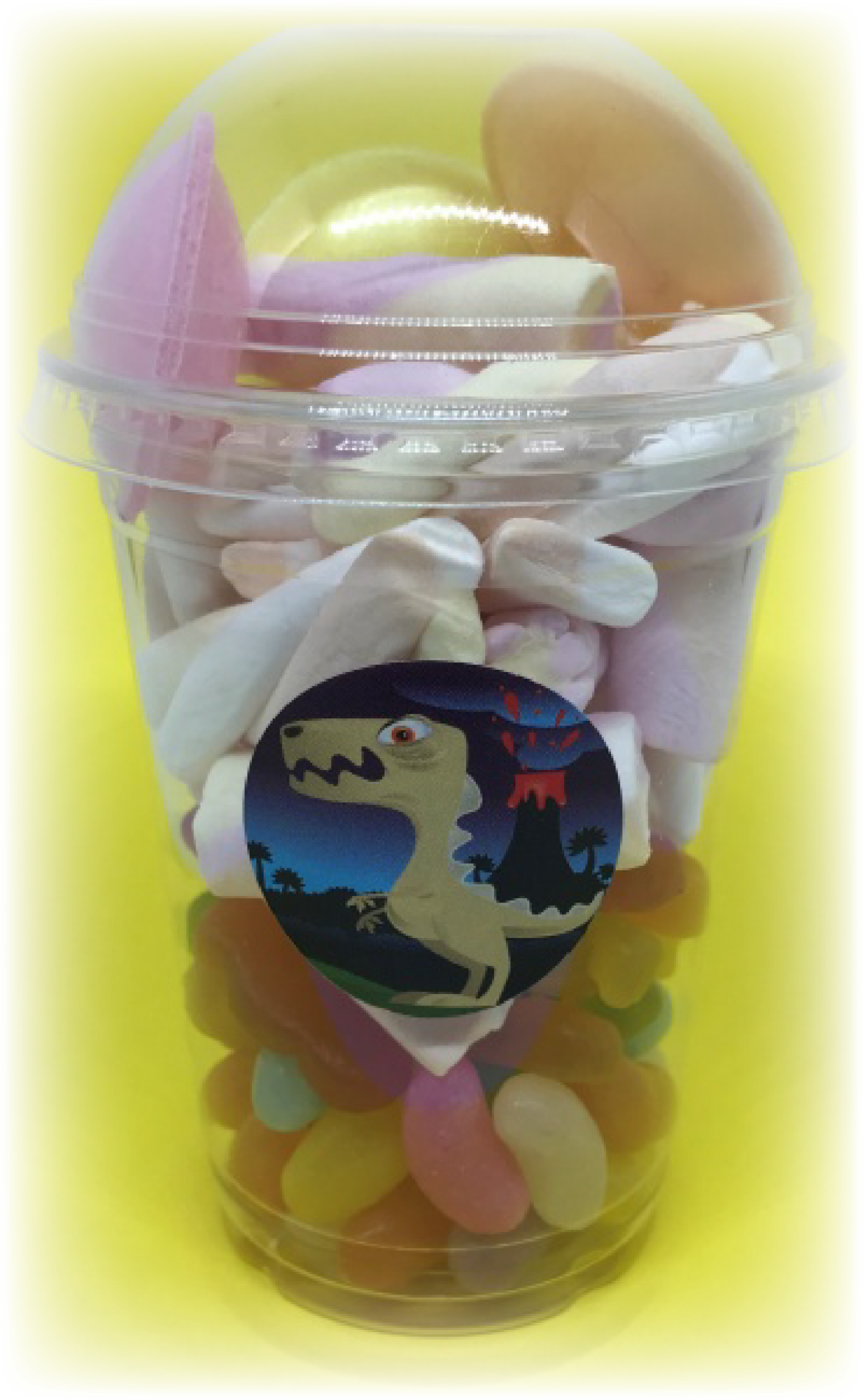 Dinosaur Themed Party Sweet Tubs