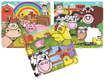 Farm Themed Jigsaw Puzzles