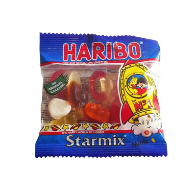 Haribo Starmix sweet bag