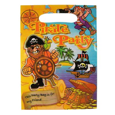 pirate themed party bag