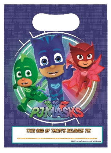 PJMASKS Themed Party Bag