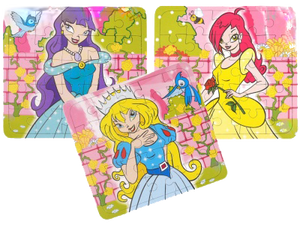 Princess themed jigsaws