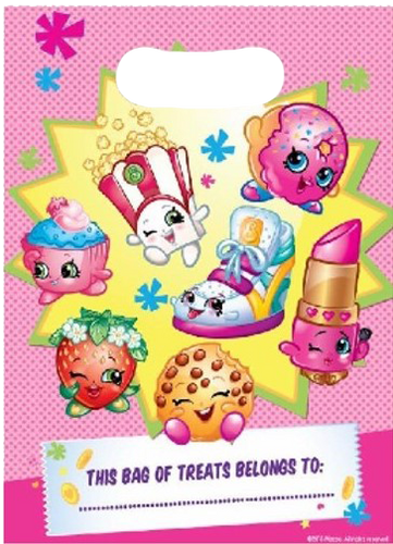 shopkins themed party bag