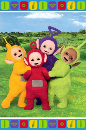 Teletubbies Party Loot Bag