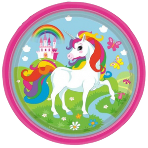 Unicorn Themed Party Plates