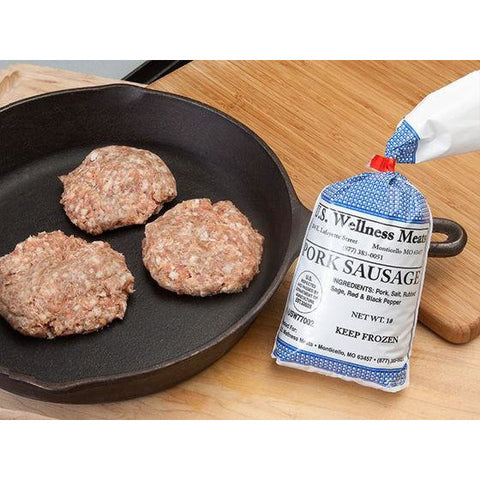 Sugar Free Pork Breakfast Sausage - 1 lb.