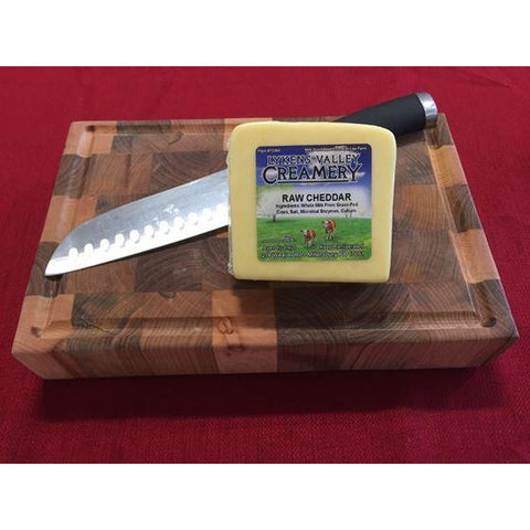 Raw Grass-Fed Mild Cheddar Cheese - 10.5 oz.