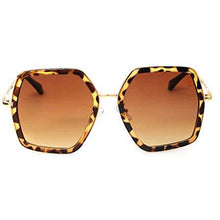 GAMT Oversized Square Sunglasses Women Vintage UV Protection