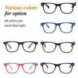 Outray Kids Computer Blue Light Blocking Glasses for Boy and Girl Anti Eyestrain