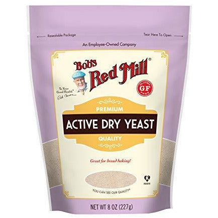 Bob's Red Mill Gluten Free Active Dry Yeast, 8-ounce (Stand up Pouch)